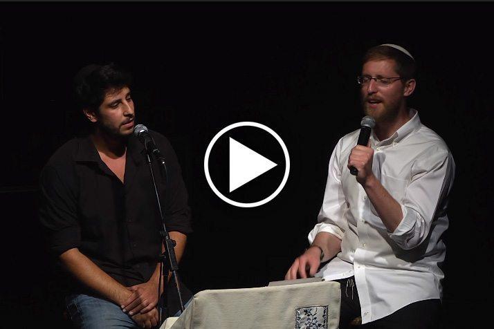 וידאו יצחק מאיר בהופעה עם עידן מדי