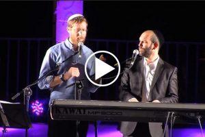 וידאו - יצחק מאיר ויונתן רזאל בהופעה